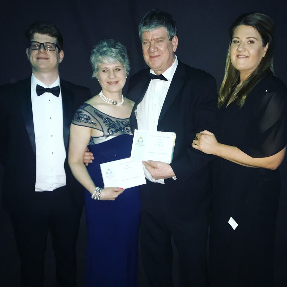 Collecting North Notts Business Award
